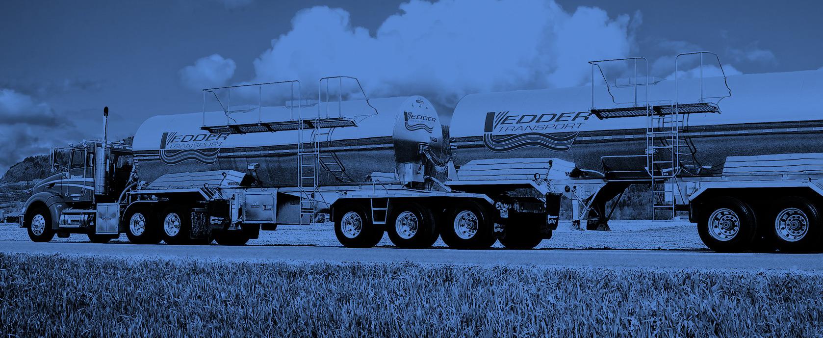Vedder Transport - Food Grade Liquid Transportation - Dry